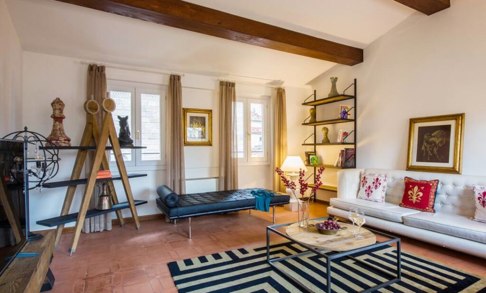 Реставрированная квартира-лофт на третьем этаже, Флоренция, Тоскана, Флоренция, Италия