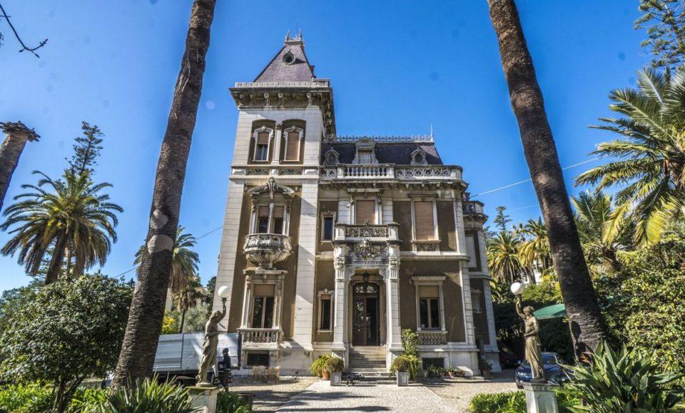 Уникальная историческая вилла в центре знаменитого курорта Сан-Ремо