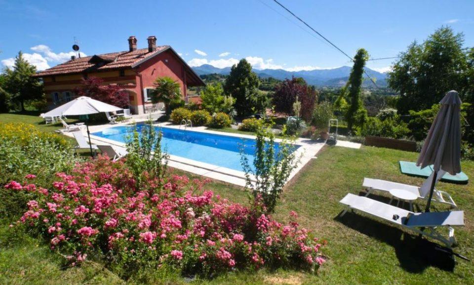 Загородная вилла в Альпах, Пьемонт (Монтальдо Мондови), Италия
